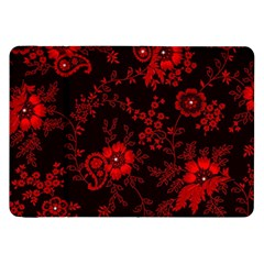 Small Red Roses Samsung Galaxy Tab 8 9  P7300 Flip Case by Brittlevirginclothing