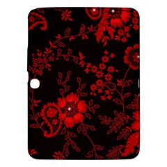 Small Red Roses Samsung Galaxy Tab 3 (10 1 ) P5200 Hardshell Case  by Brittlevirginclothing