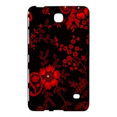 Small Red Roses Samsung Galaxy Tab 4 (7 ) Hardshell Case  by Brittlevirginclothing