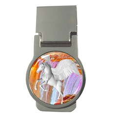 Pegasus Money Clips (round)  by icarusismartdesigns