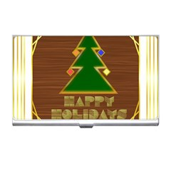 Art Deco Holiday Card Business Card Holders by Amaryn4rt