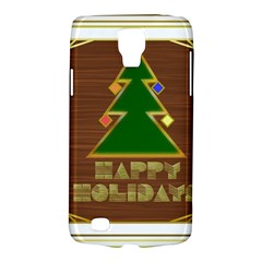 Art Deco Holiday Card Galaxy S4 Active by Amaryn4rt