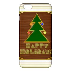 Art Deco Holiday Card Iphone 6 Plus/6s Plus Tpu Case