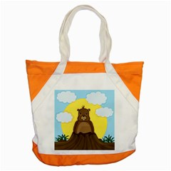 Groundhog Day  Accent Tote Bag by Valentinaart