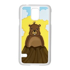 Groundhog Day  Samsung Galaxy S5 Case (white) by Valentinaart