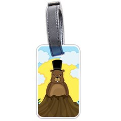 Groundhog Luggage Tags (two Sides)