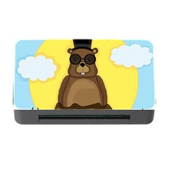 Happy Groundhog Day Memory Card Reader With Cf