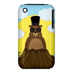 Happy Groundhog Day Iphone 3s/3gs by Valentinaart