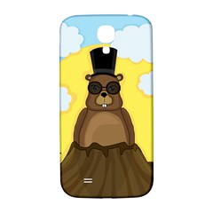 Happy Groundhog Day Samsung Galaxy S4 I9500/i9505  Hardshell Back Case by Valentinaart