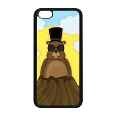 Happy Groundhog Day Apple Iphone 5c Seamless Case (black) by Valentinaart