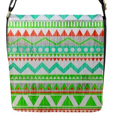 Cute Bohemian  Flap Messenger Bag (s) by Brittlevirginclothing