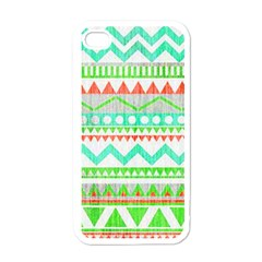 Cute Bohemian Apple Iphone 4 Case (white) by Brittlevirginclothing
