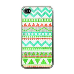 Cute Bohemian Apple Iphone 4 Case (clear) by Brittlevirginclothing