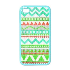 Cute Bohemian Apple Iphone 4 Case (color) by Brittlevirginclothing