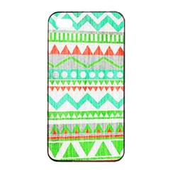 Cute Bohemian Apple Iphone 4/4s Seamless Case (black) by Brittlevirginclothing