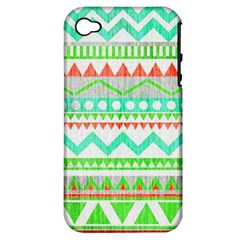 Cute Bohemian Apple Iphone 4/4s Hardshell Case (pc+silicone) by Brittlevirginclothing
