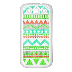 Cute Bohemian Samsung Galaxy S3 Back Case (white) by Brittlevirginclothing