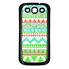 Cute Bohemian Samsung Galaxy S3 Back Case (black) by Brittlevirginclothing
