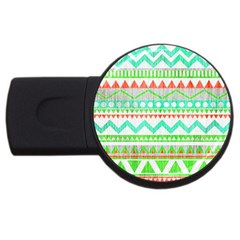 Cute Bohemian  Usb Flash Drive Round (2 Gb)  by Brittlevirginclothing