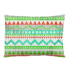 Cute Bohemian  Pillow Case (two Sides) by Brittlevirginclothing