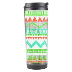 Cute Bohemian  Travel Tumbler by Brittlevirginclothing