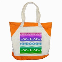 Cute Rainbow Bohemian Accent Tote Bag by Brittlevirginclothing