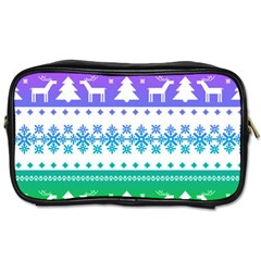 Cute Rainbow Bohemian Toiletries Bags by Brittlevirginclothing