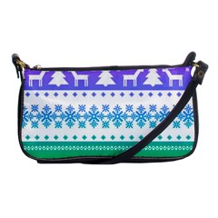 Cute Rainbow Bohemian Shoulder Clutch Bags by Brittlevirginclothing