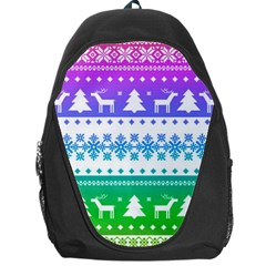 Cute Rainbow Bohemian Backpack Bag by Brittlevirginclothing