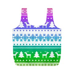 Cute Rainbow Bohemian Full Print Recycle Bags (m)  by Brittlevirginclothing