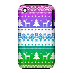 Cute Rainbow Bohemian Iphone 3s/3gs by Brittlevirginclothing