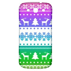 Cute Rainbow Bohemian Samsung Galaxy S3 S Iii Classic Hardshell Back Case by Brittlevirginclothing
