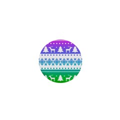 Cute Rainbow Bohemian 1  Mini Magnets by Brittlevirginclothing