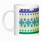 Cute rainbow bohemian Night Luminous Mugs Left
