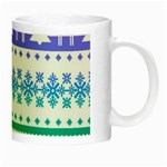 Cute rainbow bohemian Night Luminous Mugs Right