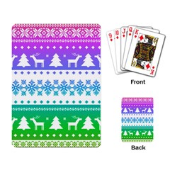 Cute Rainbow Bohemian Playing Card by Brittlevirginclothing