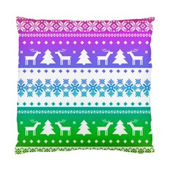 Cute Rainbow Bohemian Standard Cushion Case (one Side) by Brittlevirginclothing