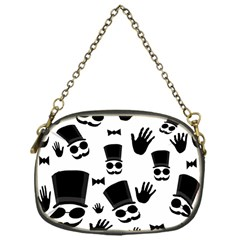 Gentlemen   Black And White Chain Purses (one Side)  by Valentinaart