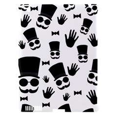 Gentlemen   Black And White Apple Ipad 3/4 Hardshell Case (compatible With Smart Cover) by Valentinaart