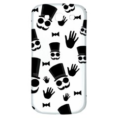 Gentlemen   Black And White Samsung Galaxy S3 S Iii Classic Hardshell Back Case by Valentinaart
