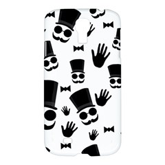 Gentlemen   Black And White Samsung Galaxy S4 I9500/i9505 Hardshell Case by Valentinaart