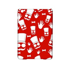 Gentlemen   Red And White Pattern Ipad Mini 2 Hardshell Cases by Valentinaart