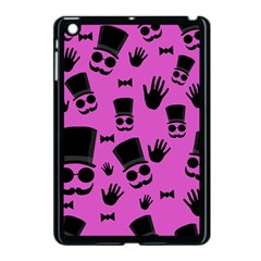 Gentleman   Magenta Pattern Apple Ipad Mini Case (black) by Valentinaart
