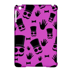 Gentleman   Magenta Pattern Apple Ipad Mini Hardshell Case (compatible With Smart Cover) by Valentinaart