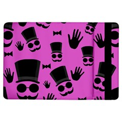 Gentleman   Magenta Pattern Ipad Air Flip by Valentinaart
