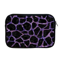 Skin1 Black Marble & Purple Marble (r) Apple Macbook Pro 17  Zipper Case by trendistuff