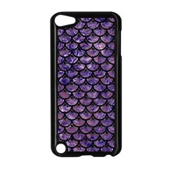 Scales3 Black Marble & Purple Marble (r) Apple Ipod Touch 5 Case (black) by trendistuff