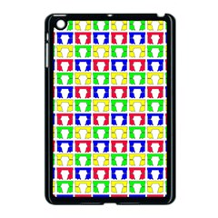 Colorful Curtains Seamless Pattern Apple Ipad Mini Case (black) by Amaryn4rt