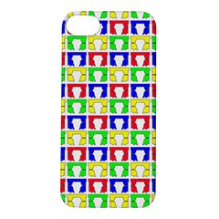 Colorful Curtains Seamless Pattern Apple Iphone 5s/ Se Hardshell Case