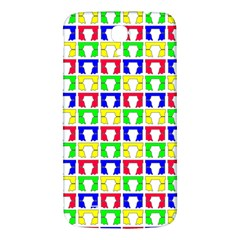 Colorful Curtains Seamless Pattern Samsung Galaxy Mega I9200 Hardshell Back Case by Amaryn4rt